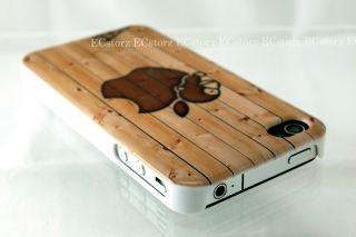 New Cute Apple bape Baby Milo Bathing Ape iPhone 4 4G 4S Hard Case