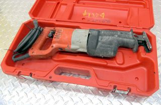 Milwaukee Sawzall Heavy Duty Reciprocating Saw Case 6509 22