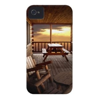 Log Cabin iPhone Case iPhone 4 Case Mae Case