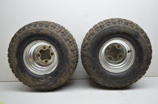 TRX400EX 400EX Rear Wheels Rims 20 Tires 20x11 9 Fourtrax