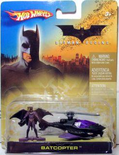 Hot Wheels Mattel Batman The Dark Knight Batcopter MISB