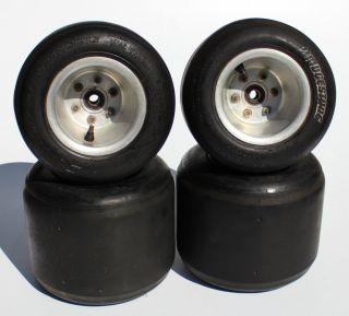 Racing Kart Quarter Midget Rims w Dunlop 11x7 10 5 11x5 5 Tires
