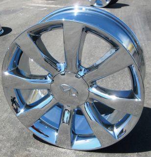 INFINITI FX45 FX35 CHROME WHEELS RIMS MURANO MAXIMA M35 M45 FX50 SET