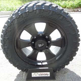 20 Black Procomp Wheels 33 Nitto Trail Tire Chevy Silverado GMC 2500