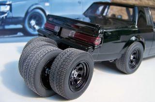 18 GMP Black Cragar Street Fighter Wheel Tire Set