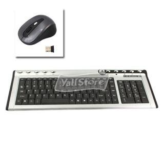 4G Wireless Mini Computer Keyboard Mouse Combo Set