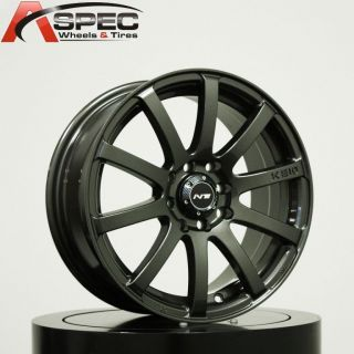 17 Inovit KE10 Gun Metal Wheel Fit Mini Cooper s JCW Clubman Scion XB