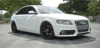 Garde M310 18 inch Matte Black Wheels Audi A4 S4 A5 S5 B8