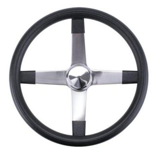 17 Competition Steering Wheel 4 Spoke Stainless Steel 1 Dish