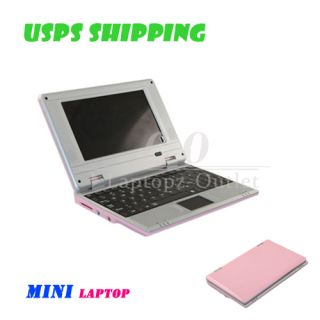 2GB 7 Mini Netbook Laptop Notebook WiFi Windows CE 6 0