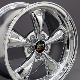 17 Rim Fits Mustang® Bullitt Wheel Chrome 17x9