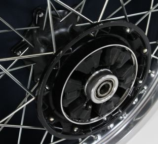 650 KLR650 Rear Wheel Hub Rim Spokes Wheels Hubs Rims 1987 2007