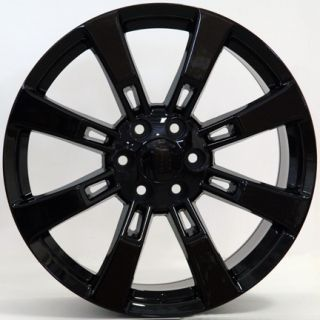 Escalade Wheels Fit Cadillac GMC Chevy Suburban Murdered Set of 4 Rims