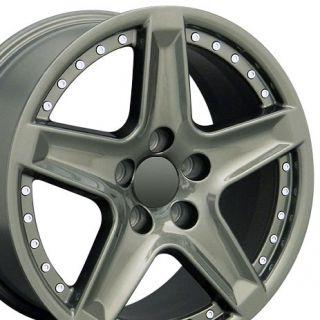 17 TL Rivet Wheels Gunmetal Set of 4 Rims Fits Acura
