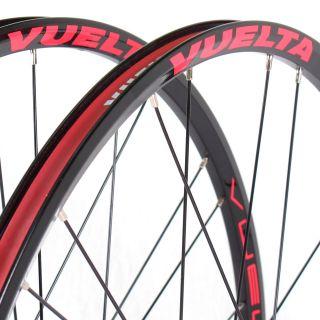 Cross Pro Lite 26 Mountain Bike Wheelset MTB Wheels Black 6 Bolt Disc
