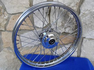 21X2.15 40 SPOKE FRONT WHEEL FOR HARLEY NARROW GLIDE DYNA 2000 03 AND