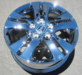 Stock 4 New 16 Factory Honda Accord Chrome Wheels Rims 2011 12