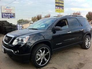 22 Chrome Wheel Tire 6x132 GMC Acadia 265 40 22 New Chevy Traverse