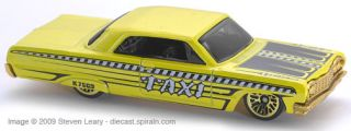 2007 Hot Wheels 052 1964 Chevy Impala TW