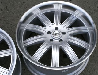SPRINGDALE 22 SILVER RIMS WHEELS MAXIMA STAG / 22 X 9.0/10.5 5H +32