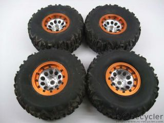Cougar Tires 3Racing 2 2 Beadlock Wheels Scale Rock Crawler