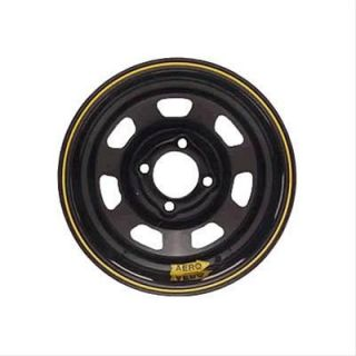 Aero Race Wheels 31 Series Black Powdercoat Spun Formed Wheel 13x7