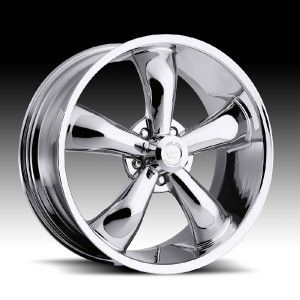 18 inch Vision 142 Legend 5 Chrome Wheels Rim 5x115 38