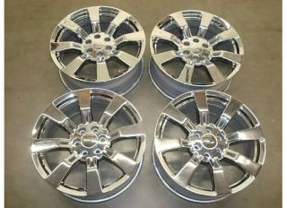 TAHOE Silverado SUBURBAN GMC LTZ 07 12 CHROME Wheels RIMS OEM FACTORY