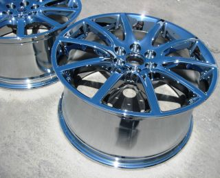 STOCK 4 18 & 19 FACTORY GM CADILLAC STS V STS OEM CHROME WHEELS RIMS