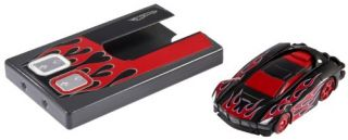 Features of Hot Wheels RC Stealth Rides Racing Car   Black with Red