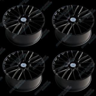 IVT Matt Black Wheels 18x8 0 inches PCD 5x100 4pc New