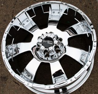 Incubus Krawler 815 20 Chrome Rims Wheels Nissan Titan Pickup