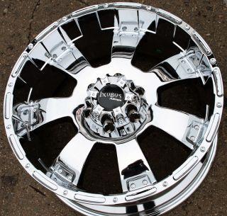 Incubus Krawler 815 20 Chrome Rims Wheels Nissan Titan Pickup