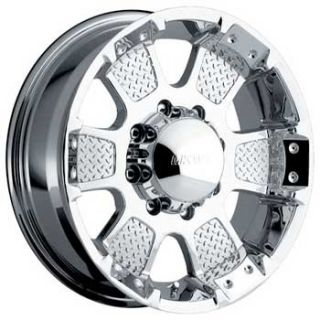 17 in MKW Offroad M41 Chrome Wheels 4 New 17x8 Rims 5 Lug