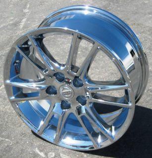 New 17 Factory Nissan Altima Chrome Wheels Rims G35 Q45 Maxima