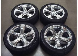CHALLENGER Charger CHROME Wheels TIRES Rims OEM RT R/T HEMI Factory 12
