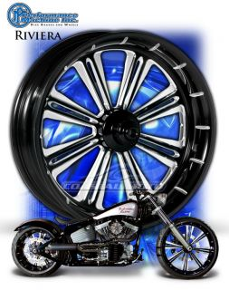 Machine Riviera Motorcycle Wheels Harley Streetglide Roadglide