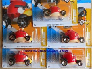 2012 Hot Wheels Red Angry Birds First Edition New Models 47 247