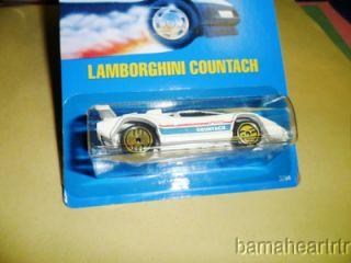 Hot Wheels 1989 90 Pre Collector Number # 60 Lamborghini UH gold ULTRA