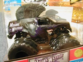 Hot Wheels 2011 Monster Jam 1st Ed 71 Mohawk Warrior