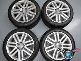 Four 08 11 Mercedes MBZ C300 Factory 17 Wheels Tires Rims 65522 W204