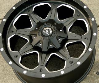D534 20 Black Rims Wheels Silverado 3500 11 Up 20 x 9 0 8H 01