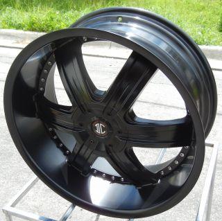 24 2 Crave No 4 Wheels Rim Escalade Tahoe Chevy Ford F150 Nissan GMC