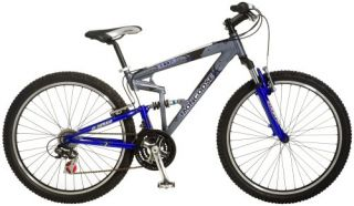 Mongoose Exile Dual Suspension Mountain Bike 26 Inch Wheels FREE S&H