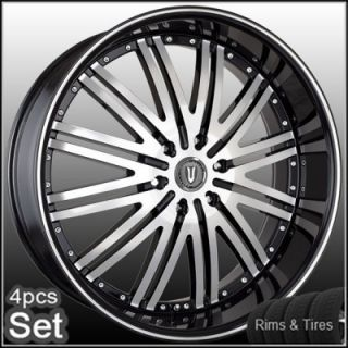 28 Wheels and Tires Escalade Chevy Ford QX56 H3 Silverado Yukon Tahoe