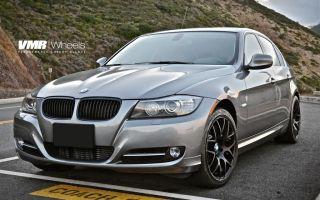 VMR 18 inch V710 Wheels Matte Black BMW 3 Series E90 E92 E93 328i