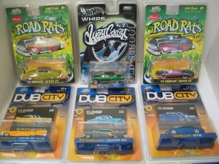 cars from Road Rats, Hot Wheels Whips West Coast Customs and Dub City