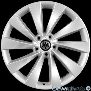 19 Silver Turbine Wheels Fits VW CC EOS Golf GTI Jetta MK5 MKV Passat