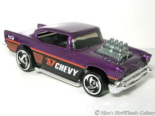 1998 Hot Wheels 787 57 Chevy