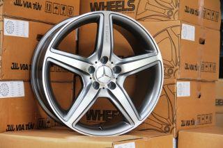 18 E350 Wheels Mercedes CL E CLS SL S55 CLK E55 AMG Rims
